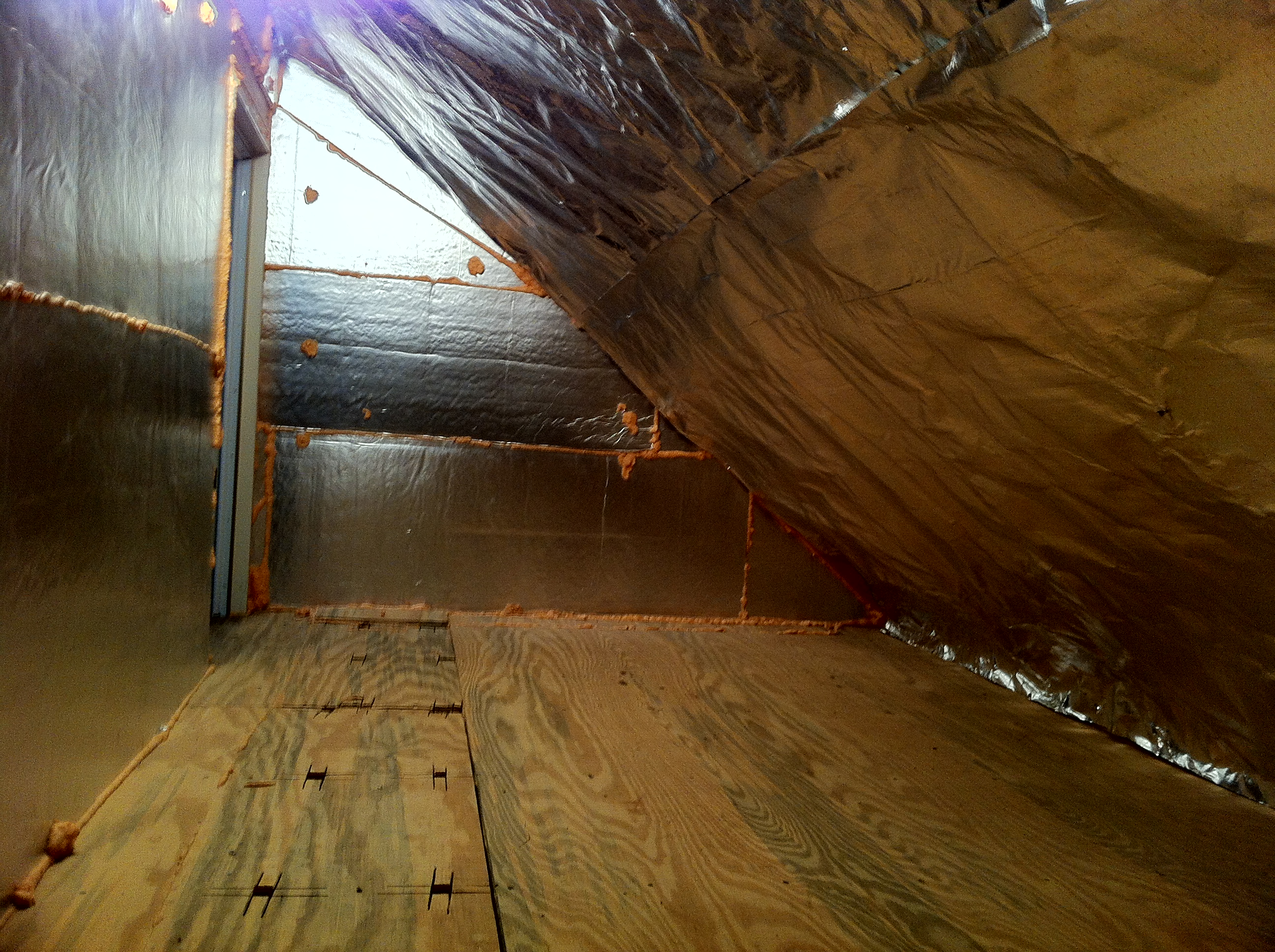 Fletcher Attic and Knee Wall Improvements