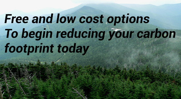 Lower your carbon footprint